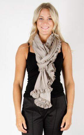Scarf Soft Shiny - Beige