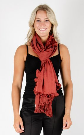 Scarf Soft Shiny - Terra