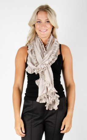 Scarf Soft Shiny - Sand