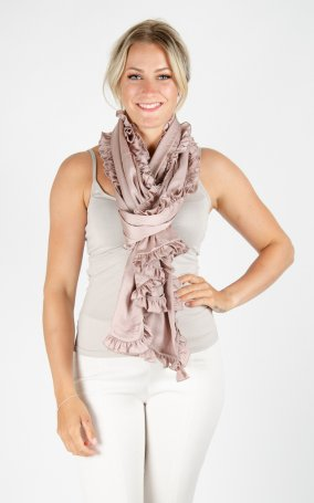Scarf Soft Shiny - Powder