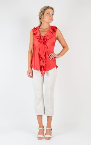 Nelly Short Soft Shiny - Coral